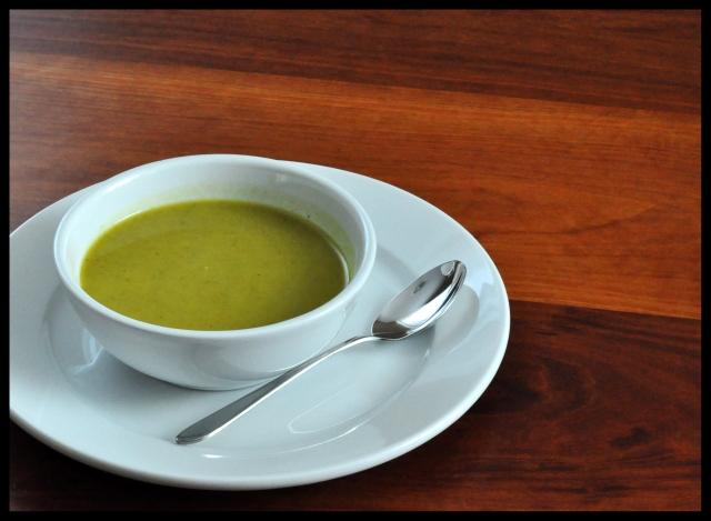 Curried Zucchini Soup South Beach