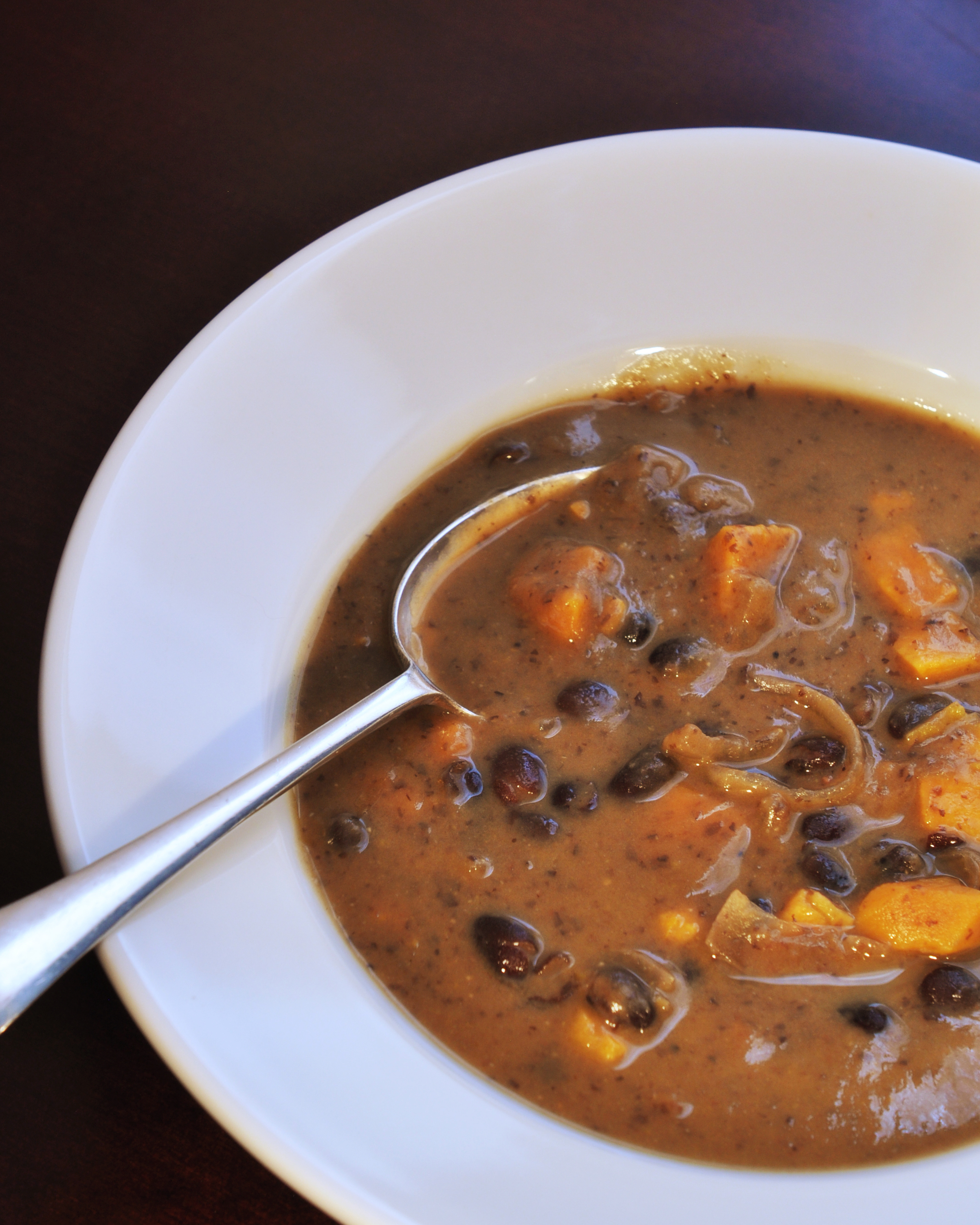 Black Bean and Sweet Potato Soup | Bon Appetit Hon