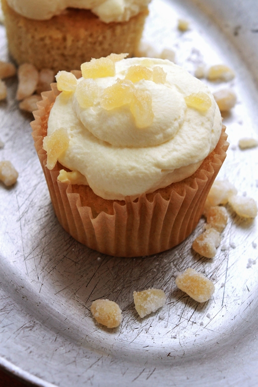 Ginger Cream Cupcake